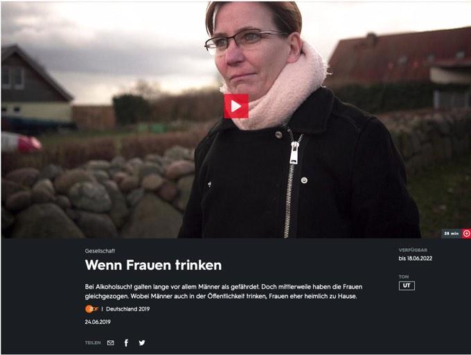 """ZDF-Doku aus der Reihe """"37 Grad"""": """"Wenn Frauen trinken"""""""