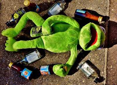 Mein Trinkverhalten ist vielleicht etwas ungewöhnlich, dennoch absolut nicht mehr gesund