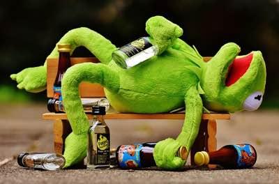 Alkohol: Ende war immer nur, wenn die Lichter ausgingen